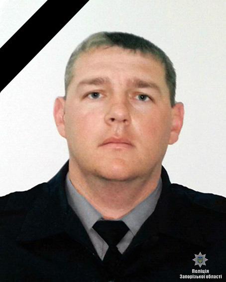 Врезультате происшествия надороге вЗапорожской области наслужебном автомобиле умер полицейский
