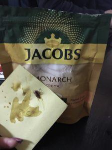 Запорожанка купила в одном из супермакетов кофе с неприятным «сюрпризом»