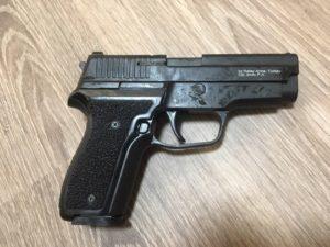 В Запорожье задержали вооруженного мужчину - ФОТО