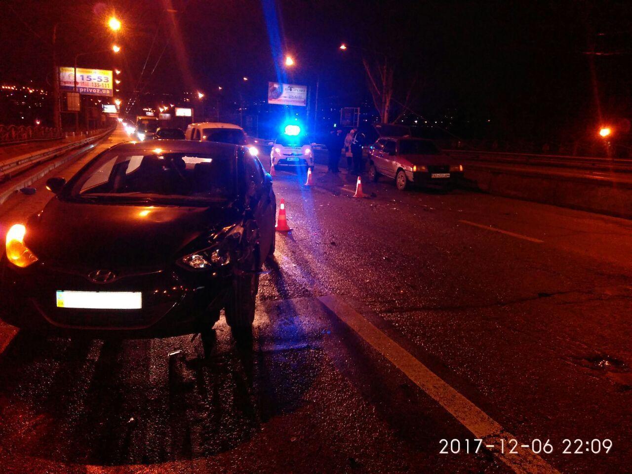ВЗапорожье мужчине оторвало ногу врезультате дорожно-траспортного происшествия