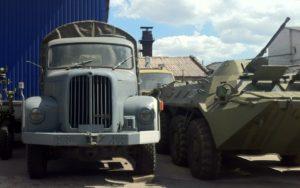 В Запорожье волонтер обещал отремонтировать БТР для АТОшников, а в итоге продал его в музей