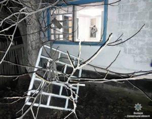 В Запорожской области ночью произошло разбойное ограбление - ФОТО