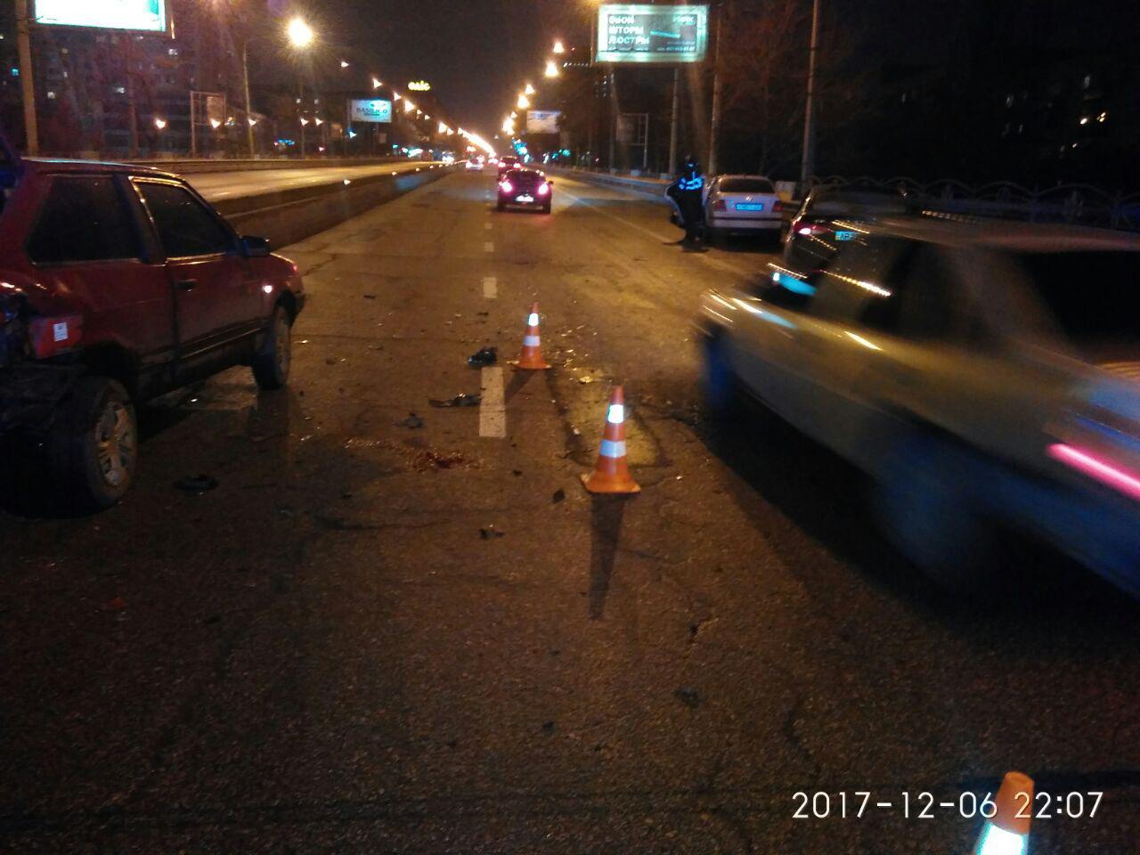 Житель Запорожья, получивший в ДТП серьезные травмы, скончался в больнице
