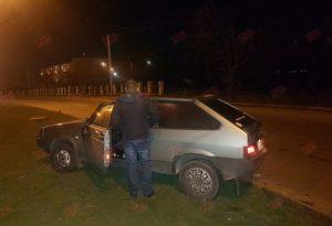 В Запорожской области пьяный водитель пытался убежать от полицейских – ФОТО, ВИДЕО