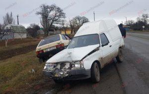 В Запорожской области на трассе произошло сразу два ДТП – ФОТО, ВИДЕО