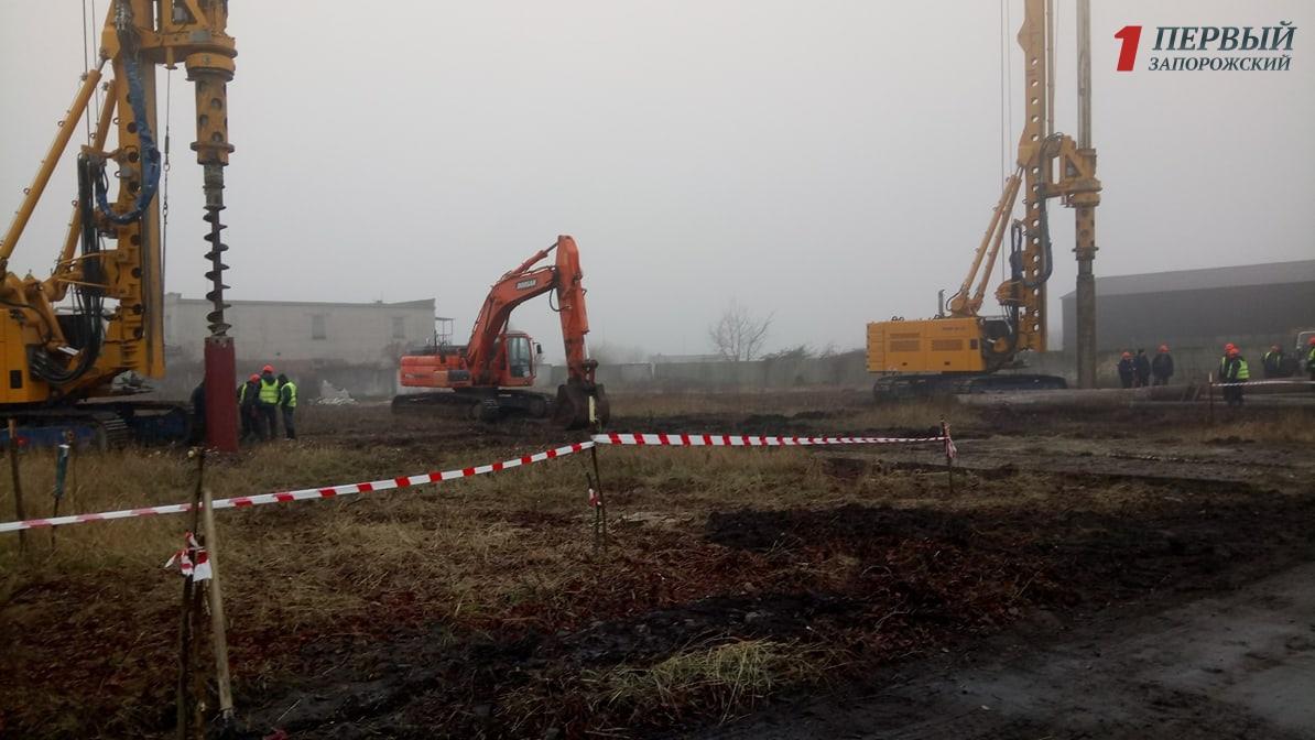 Как в Запорожье ведется работа над строительством нового терминала в аэропорту - ФОТО