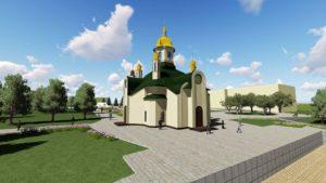 Запорожский нардеп предлагает возвести на площади Фестивальной храм - ФОТО