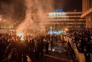 Прокуратура объявила в розыск правоохранителя-«титушку», который участвовал в разгоне запорожского майдана - ФОТО