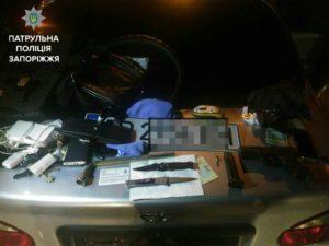 В Запорожье ночью вооруженные злоумышленники напали на двух иностранцев - ФОТО