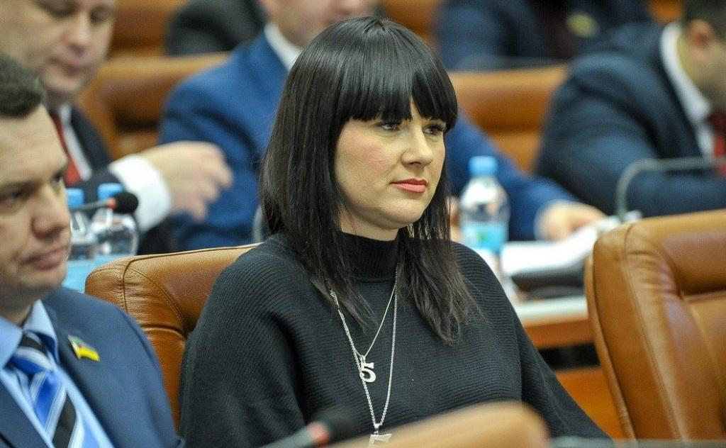Глава городской фракции «Самопомощь» Дарья Трюхан слегла в больницу после проведения обысков