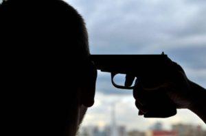 В Запорожской области мужчина застрелился после похорон матери