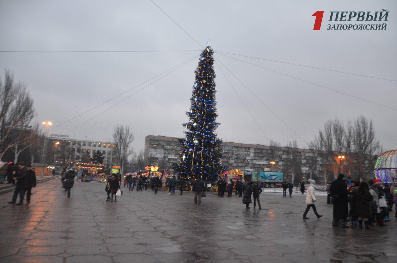 Запорожцев приглашают провести первый день Нового года на праздничном фестивале