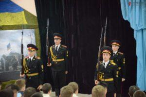 Марина Порошенко поздравила воспитанников запорожского лицея с Днем Вооруженных Сил Украины - ФОТО, ВИДЕО