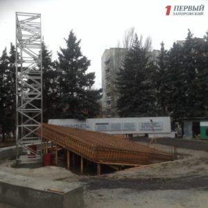 В Запорожье приостановили строительство памятника ликвидаторам Чернобыльской катастрофы – ФОТО