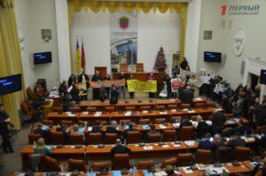 Сессия Запорожского горoдского совета в лицaх - ФОТО
