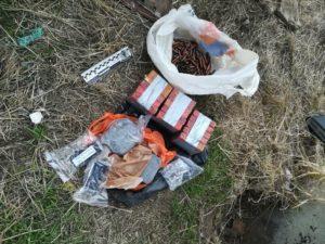 В Запорожской области обнаружили тайники с взрывчаткой и гранатами - ФОТО