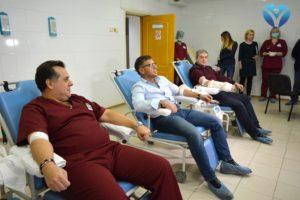 Марафон донорства в ЗОКБ продолжается: к проекту присоединились руководство и коллектив ТМ «Хлебодар»