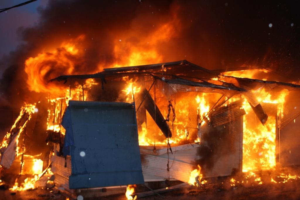 НаЗапорожье вовремя пожара вфирме погибли два человека
