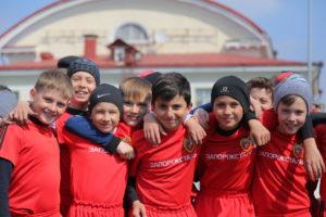 Детская школа «Металлурга» вошла в тройку лучших футбольных учреждений Украины