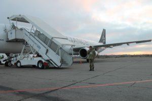 В аэропорту Запорожья россиянин пытался свести счеты с жизнью