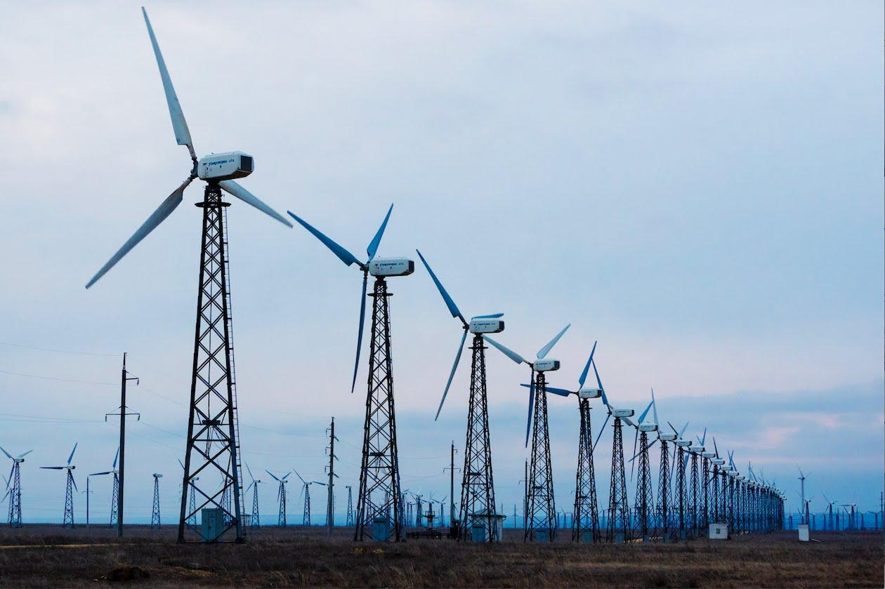 В Запорожской области американцы построят самую крупную ветровую электростанцию стоимостью в 560 миллионов долларов