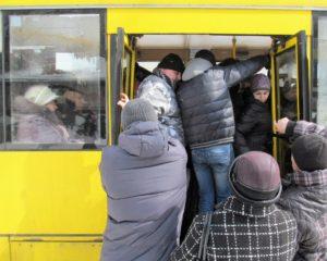 Запорожцы не могут добраться на работу в час пик на общественном транспорте
