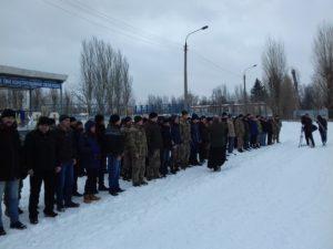 Запорожские резервисты отправились на военные сборы - ФОТО