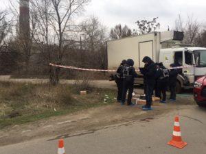 Опубликованы фотографии с места вооруженного нападения на предпринимателя - ФОТО