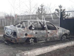 В области мужчина подорвал гранатой авто с экс-супругой и скрылся с места происшествия - ФОТО