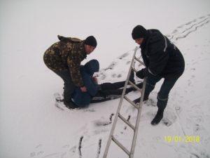 В Запорожской области пьяный мужчина