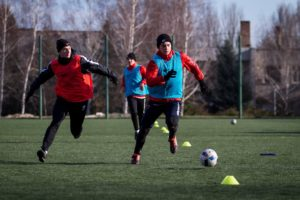 Запорожский «Металлург» провел первые тренировки после новогоднего отпуска - ФОТО