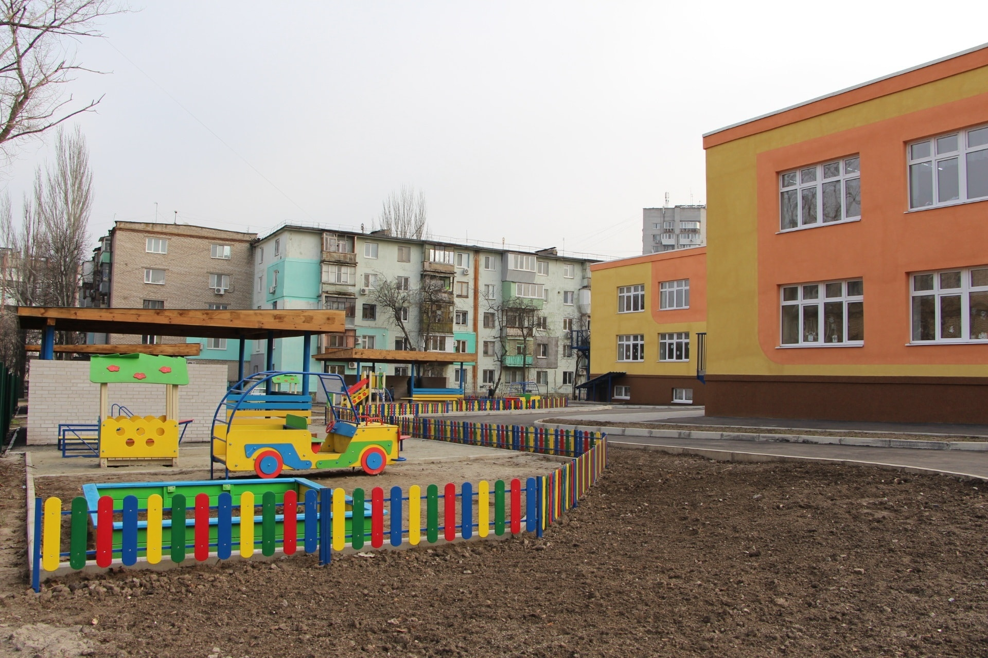 В Запорожье после шестнадцати лет застоя открыли отремонтированный детский сад  - ФОТО