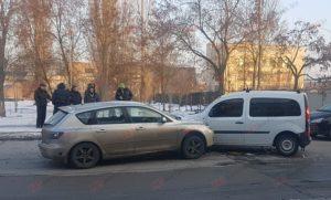 В Запорожской области лоб в лоб столкнулись две иномарки - ФОТО