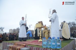 В Запорожье будет обустроено две локации для купания во время Крещения