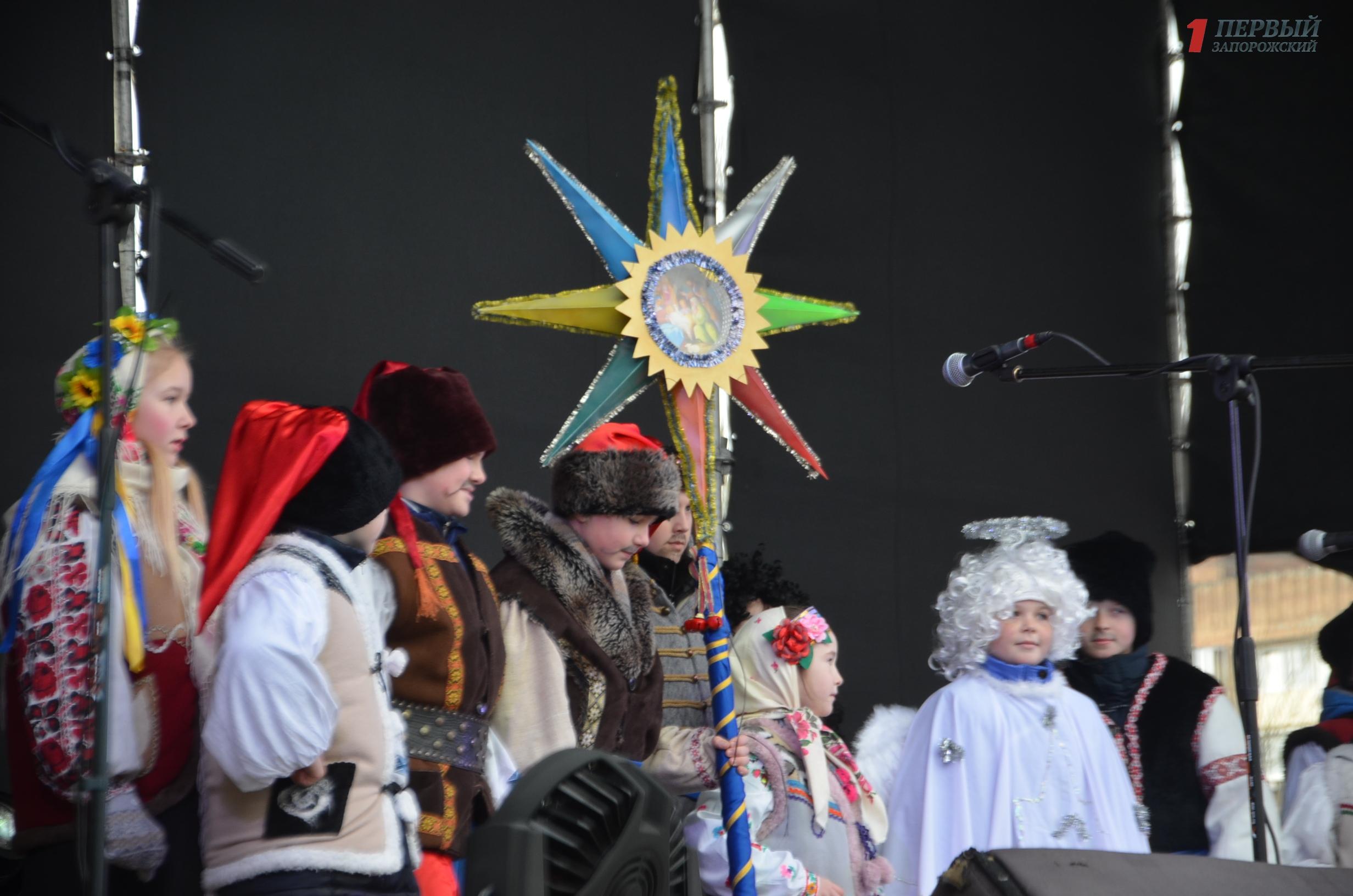 В Запорожье прошел фестиваль рождественских вертепов - ФОТО, ВИДЕО