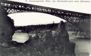 Запорожский дайвер обнаружил уникальную беседку царских времен рядом с останками Кичкасского моста – ВИДЕО
