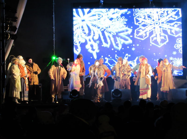 Какая праздничная программа ждет запорожцев на рождественских выходных