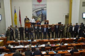 Во время проведения сессии двадцать депутатов покинули зал, потому что не могут «достичь конструктива»