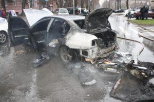 Появились подробности ДТП с загоревшимся автомобилем и ребенком  - ФОТО, ВИДЕО