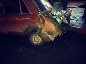 В Запорожской области водитель микроавтобуса столкнулся с легковушкой и скрылся с места ДТП - ФОТО