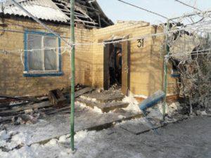 В Запорожской области в результате взрыва в жилом доме пострадали два человека - ФОТО