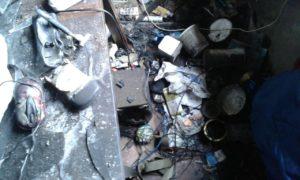Появились фото с места пожара в студенческом общежитии - ФОТО