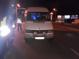 В Запорожье произошло очередное ДТП с маршруткой в центре города – ФОТО
