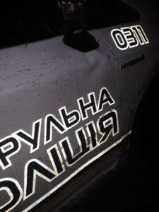 Пьяный запорожец едва не разбил автомобиль полицейских – ФОТО