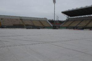 Запорожский стадион «Славутич Арена» готовится к старту футбольного сезона