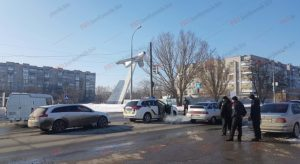 В Запорожской области произошло ДТП с участием полицейского авто - ФОТО, ВИДЕО