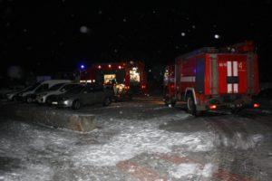 В Запорожье горела пристройка к частному дому - ФОТО