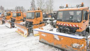 За прошедшую ночь в Запорожье вышли из строя 14 снегоуборочных машин