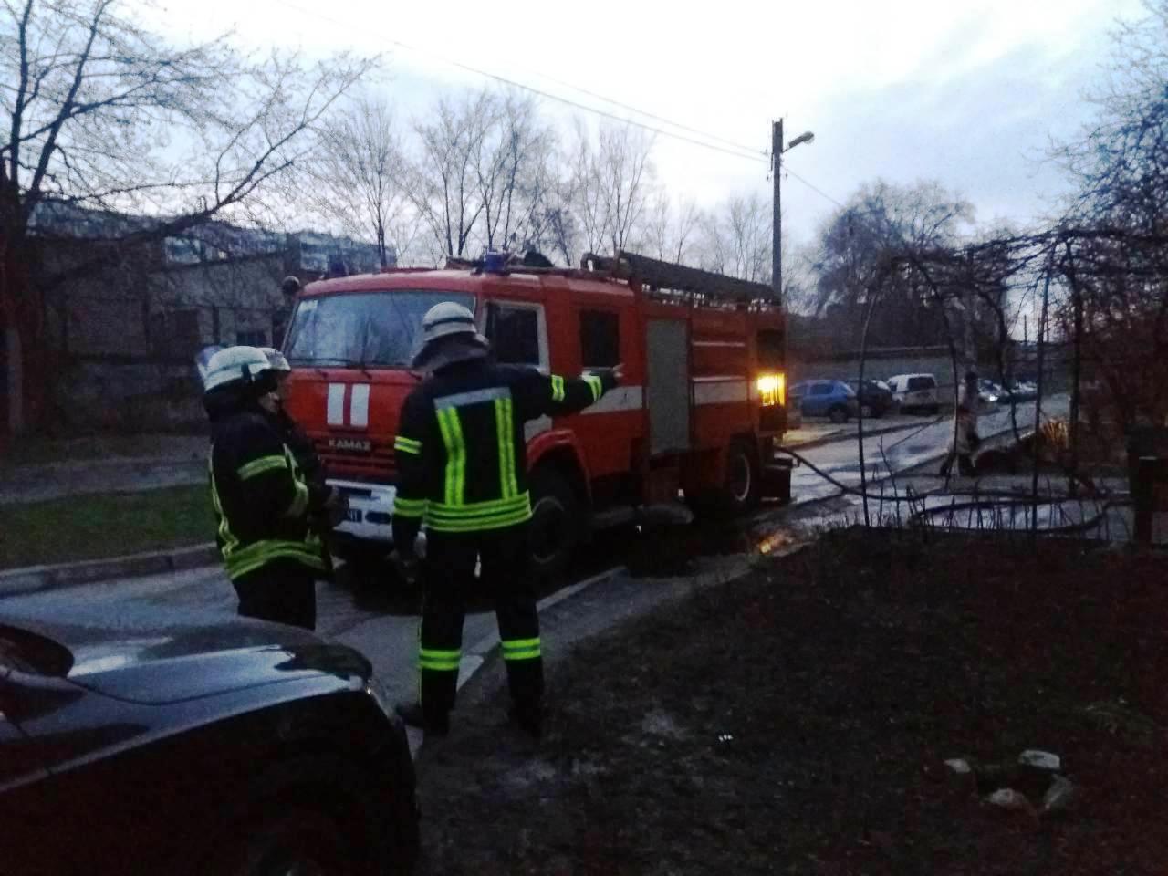 ВЗапорожье втрехкомнатной квартире произошел пожар: есть погибший
