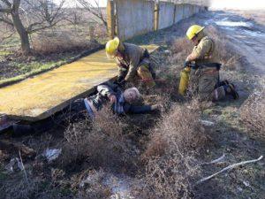 В области на складе на мужчину упала бетонная плита - ФОТО